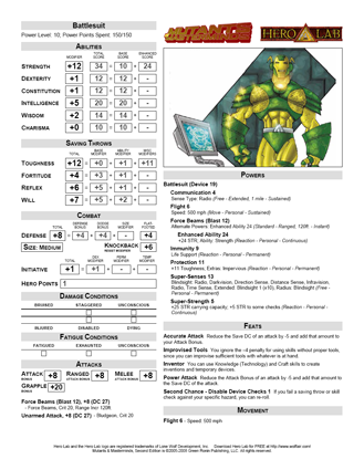 Green Ronin Support Files Index